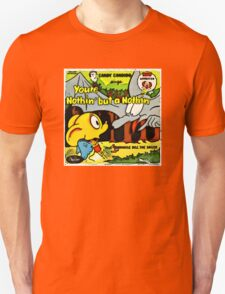 Vintage Record Cartoon Unisex T-Shirt