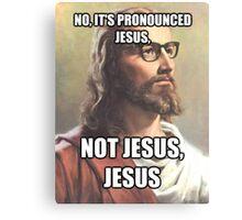 It's JESUS Canvas Print