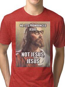 It's JESUS Tri-blend T-Shirt