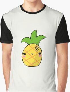 Kawaii Cute Pineapple Tropical Graphic T-Shirt
