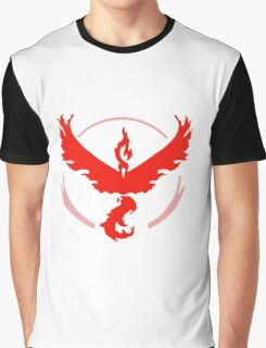 Pokemon GO Red Team Valor Graphic T-Shirt