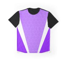 VICTORY HONEY COMB PURPLE DESIGN Graphic T-Shirt