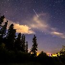 Rocky Mountain Falling Star by Bo Insogna