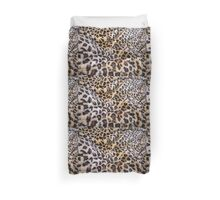 Fuzzy Looking Leopard Duvet Cover