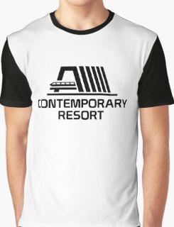 VintageContemporaryBlack Graphic T-Shirt