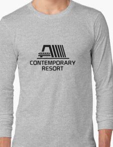 VintageContemporaryBlack Long Sleeve T-Shirt