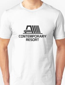 VintageContemporaryBlack Unisex T-Shirt