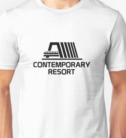 VintageContemporaryBlack Unisex T-Shirt