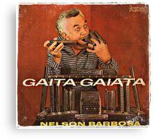 Vintage Record Gaita Gaiata Canvas Print