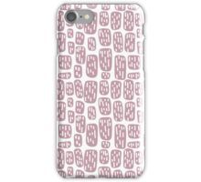 Abstract rectangles pattern iPhone Case/Skin