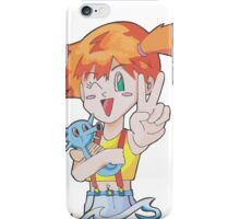 Misty and Horsea iPhone Case/Skin