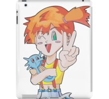 Misty and Horsea iPad Case/Skin