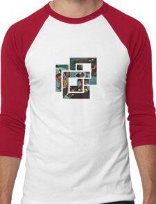 Vintage Jap Cartoon Men's Baseball ¾ T-Shirt