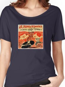 Vintage Cartoon Record Women's Relaxed Fit T-Shirt