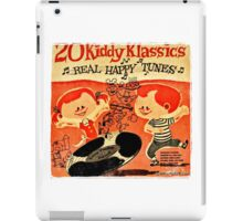 Vintage Cartoon Record iPad Case/Skin