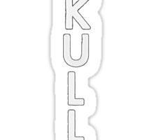 Bastille - Skulls #2 Sticker