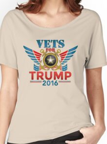 Vets for Trump Women's Relaxed Fit T-Shirt