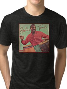 Beating Time Vintage Record Tri-blend T-Shirt