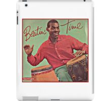 Beating Time Vintage Record iPad Case/Skin