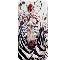 Group of Zebras iPhone Case/Skin