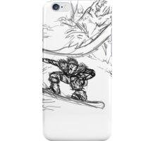 Dangerous Snowboarding iPhone Case/Skin