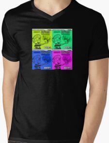 Vintage Cartoon Mens V-Neck T-Shirt
