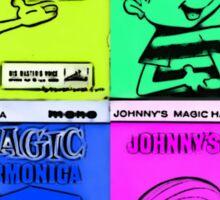 Vintage Cartoon Sticker