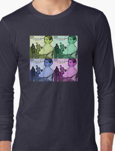 Vintage Pattern Retro Long Sleeve T-Shirt