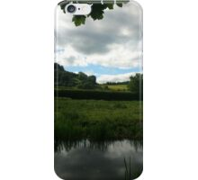 Water Earth Sky - Walk Along The Canal 2 iPhone Case/Skin