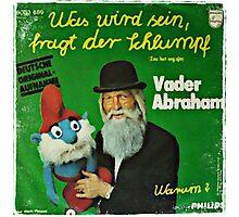Vander Abraham Smurf Photographic Print