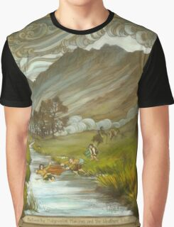 Midgewater Marshes to the Weather Hills Graphic T-Shirt