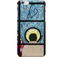 Stained Glass Castiel iPhone Case/Skin