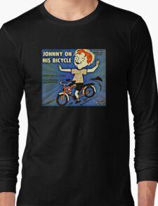 Vintage Record Johnny Bike Long Sleeve T-Shirt