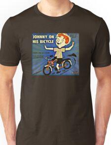 Vintage Record Johnny Bike Unisex T-Shirt