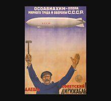 Soviet Russia Zeppelin Poster Classic T-Shirt