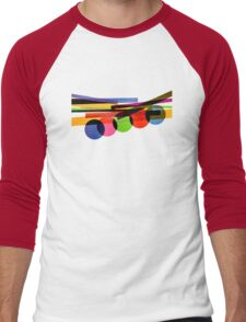 Amazing abstract 60's Vintage cover album Men's Baseball ¾ T-Shirt