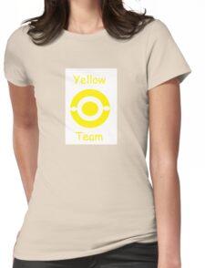 Pokemon team yellow Womens Fitted T-Shirt