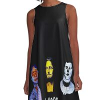 Animal Collective #4 A-Line Dress