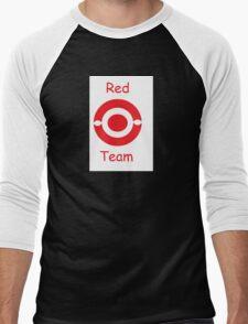 pokemon team red Men's Baseball ¾ T-Shirt