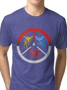 Pokemon Go Teams Tri-blend T-Shirt
