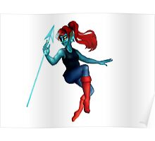 Pin Up Undyne ! Poster