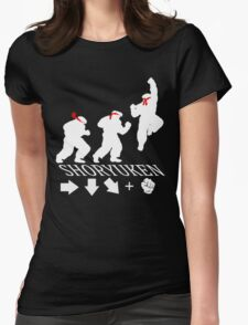 Shoryuken - Rising Dragon Fist  Womens Fitted T-Shirt