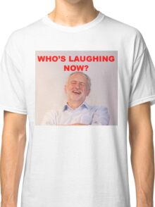 Jeremy Corbyn Laughing Classic T-Shirt