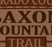Saxon Mountain Colorado offroad Jeep trail Sticker