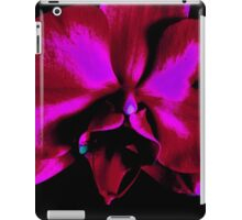 Red Orchid  iPad Case/Skin