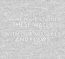 Bastille - These Streets #3 (Oh We Have Stained These Walls, With Our Mistakes And Flaws) Kids Clothes