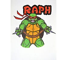 Raph Photographic Print