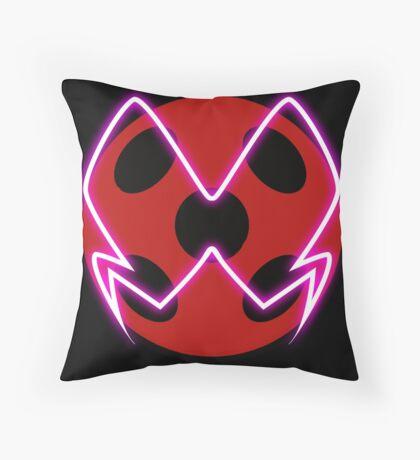 Akuma Ladybug Throw Pillow