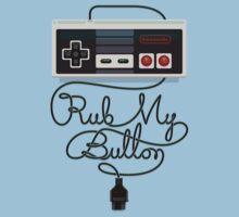 Rub My Button Kids Tee