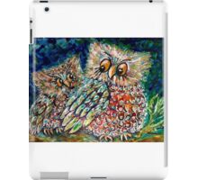 Safe beneath our wings iPad Case/Skin